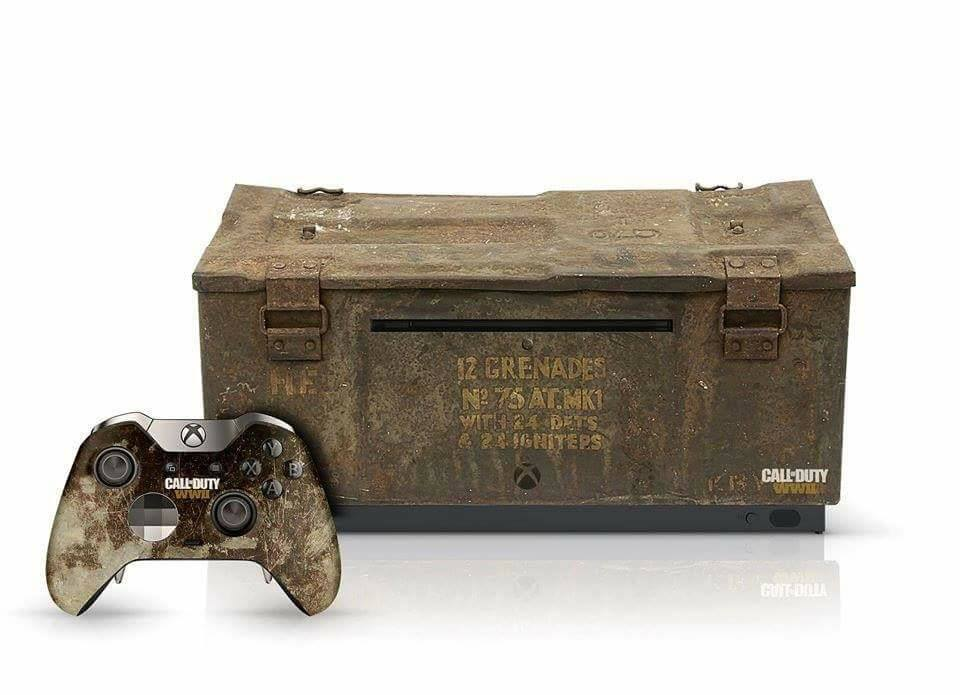 xbox one s special edition call of duty: world war 2