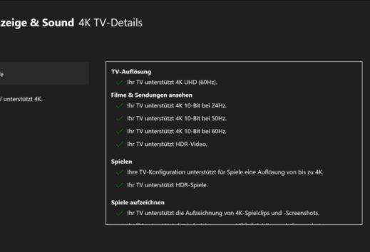 Xboxmedia hilft: Wie ihr die richtigen 4K-Einstellungen für eure Xbox One X vornehmt (Video)