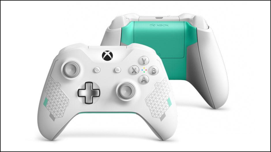 Xbox One – Microsoft stellt neuen Sport White Special Edition Controller vor