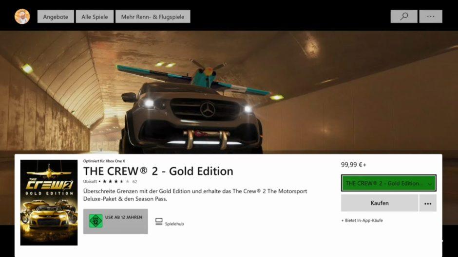 Xbox One Dashboard – Xbox Store bekommt Produktseiten
